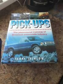 Pick ups hardback book by Terry Jackson