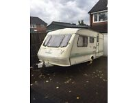 Elddis 5 birth caravan plus awning with toilet and shower