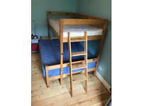 Bunk bed timber