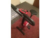 Exercise bike cycling