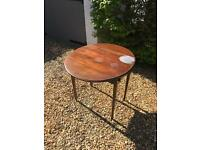 Collapsible Oval Wooden Table