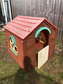 Little Tikes Cottage House Outdoor Playhouse tent Garden Children Kids