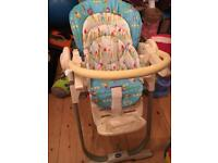 Chico pollymagic high chair
