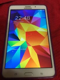 Samsung galaxy tab 4 WiFi AND SIM 7""