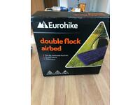 New euro hike double air bed