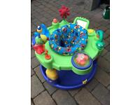 Baby activity station