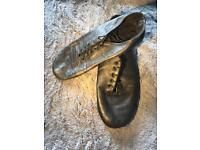 Ladies size 3 black jazz shoes