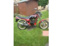 yamaha rd 125 lc 1987 uk bike, not import, rare, ypvs. mot'd.swop classic car mot'd?