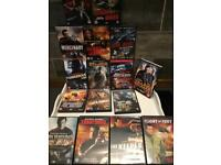Steven Seagal dvd s , all action thrillers all steven Seagal different ones