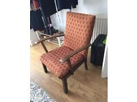 Armchair great for reupholstering