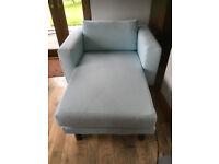 Sofa / Chaise Longue Blue