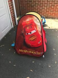 Lightening McQueen tent