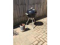 Black 47cm Webber Kettle BBQ