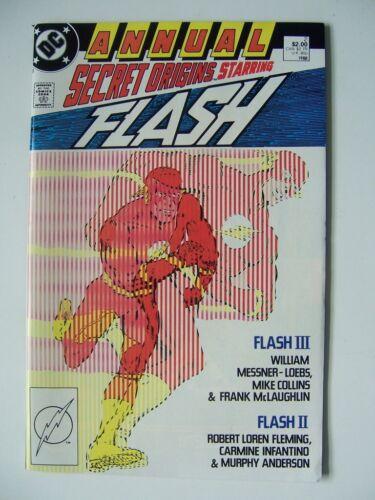SECRET ORIGINS # 2 - THE  FLASH - Near Mint - DC Comic - 1988