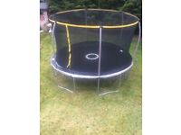 Brand new 12 ft trampoline and step ladder still in box brand new never used needs dismantling