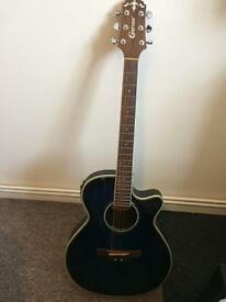 Crafter electric acoustic guitar
