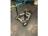 Premium Prowler Sled With Harness - Push/Pull Conditioning Weight Workout