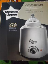 Tommee tippee bottle/food warmer