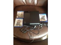 Ps4 500g with 3 games