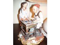 the cobbler a capo de monte figure .group.good condition,collecteablr