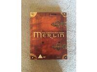 MERLIN TV SERIES DVD BOXSET SEASON 1, AS NEW £5