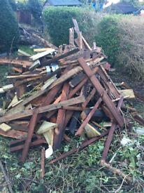 Free fire wood. Collection Salisbury