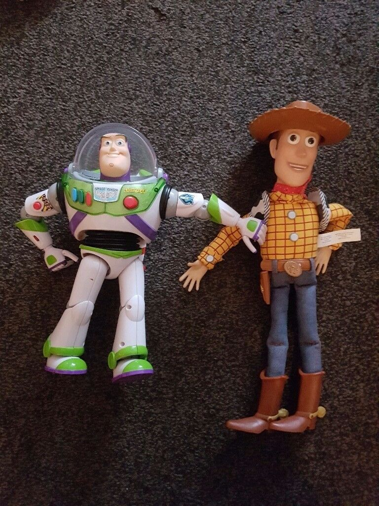 Toy story buzz and woody toys