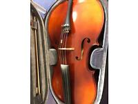 Full size Cello with lightweight case
