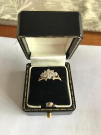 Vintage engagement ring (size k)