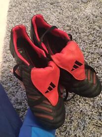 Adidas predator (Black and Red) addition