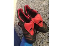 Adidas predator (Black and Red) addition