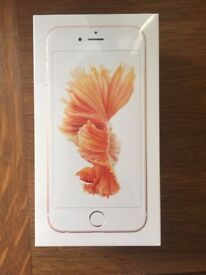 Iphone 6S unlocked, brand new, sealed box, 128gb