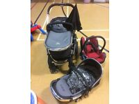 ICandy peach 1 travel system £180