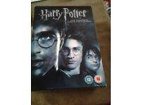 Harry Potter Complete DVD Collection boxset for sale.