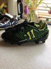 Kids football boots size one