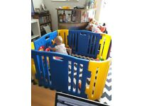 Great chunky plastic baby's playpen - £15 collection only