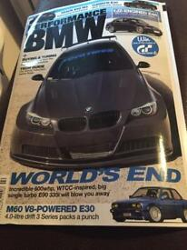 Performs BMW February 2014 magazine