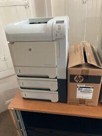 HP P4014N Mono A4 Laserjet Printer Base Model