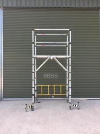 Teletower Telescopic Aluminium Folding Scaffold Tower Like Boss Youngman