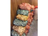 NEW BAGS OF KINDLING & PIT FIRE WOOD