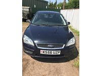 Ford Focus 2.0 Diesel tdci Manual Dark blue Breaking for parts / spares - bumper seats Wheels ect