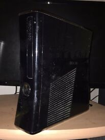 Xbox 360 preowned, working condition, power supply included.
