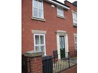 2 bedroom house in Hulme with parking and garden to rent £750 pm from December 2016
