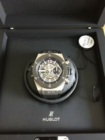Hublot Big Bang Unico titanium ceramic mens watch original box and papers