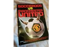 Socceroos vs Manchester United 1999 tour program