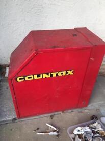 Countax ride on mower wheel lock