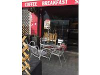 Cafe and Restaurant (Quick for sale ). £55000