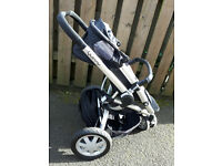 Quinny Buzz pram, used bit in great condition. Reduced to £80.
