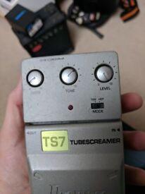 Ibanez modded ts7 tubescreamer pedal