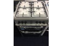 Beko gas cooker 60 cm ,new only 295.00
